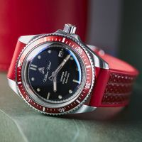 The Valiant Red Watch / Fire Hose Strap   Bombinate