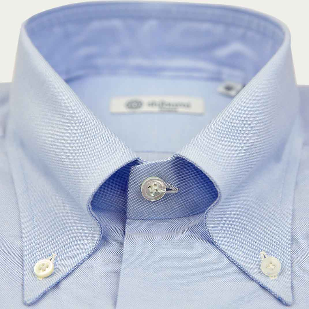 Sky Blue Oxford Button Down Shirt  | Bombinate