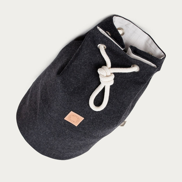 Anthrazit Wool Marin Bag  | Bombinate