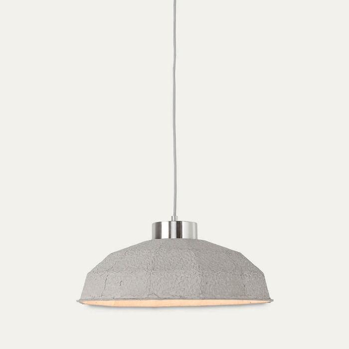 Grey Yosemite Paperpulp Hanging Lamp | Bombinate