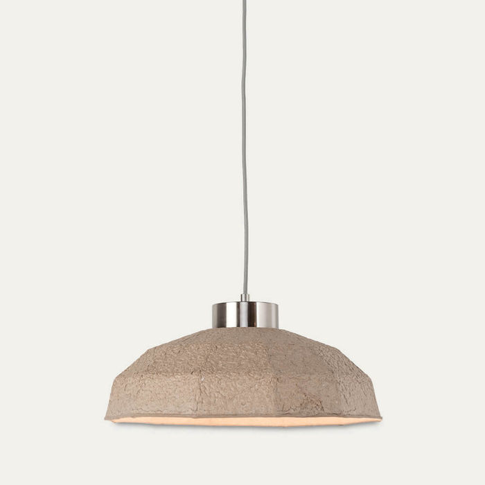 Natural Yosemite Paperpulp Hanging Lamp | Bombinate