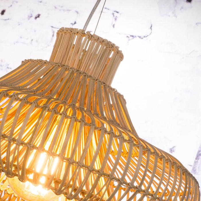 Small Kalahari Wicker Hanging Lamp | Bombinate