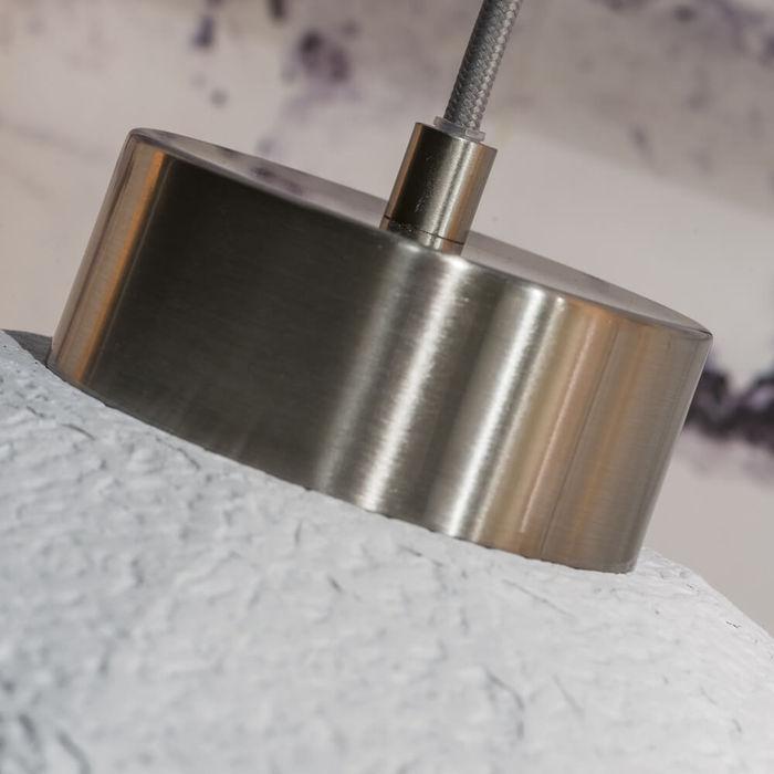 White Yosemite Paperpulp Hanging Lamp | Bombinate