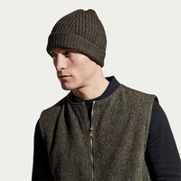 Olive Men's English Wool Gilet | Bombinate