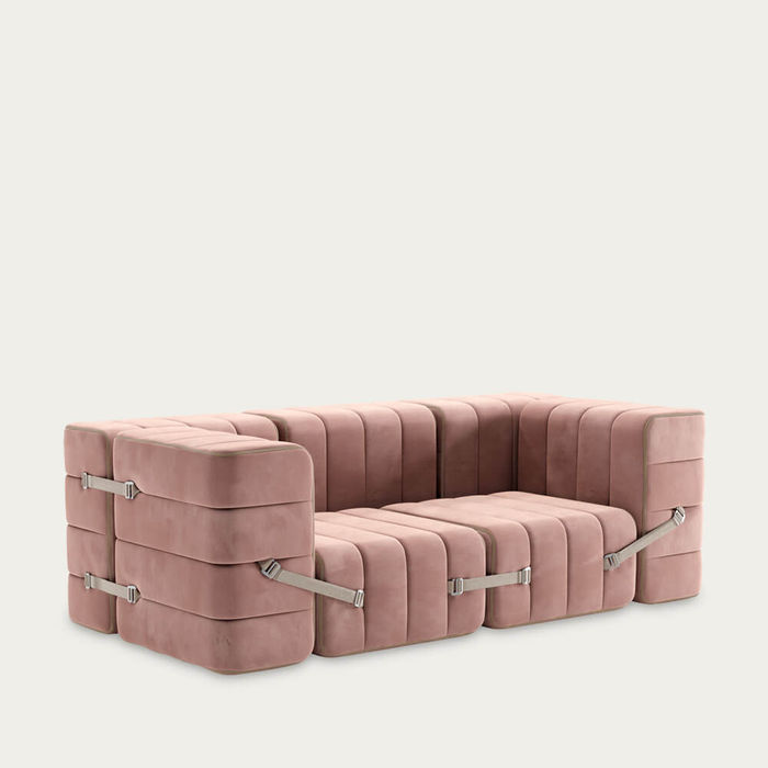 Rose Curt Sofa System 7 Modules - Barcelona | Bombinate