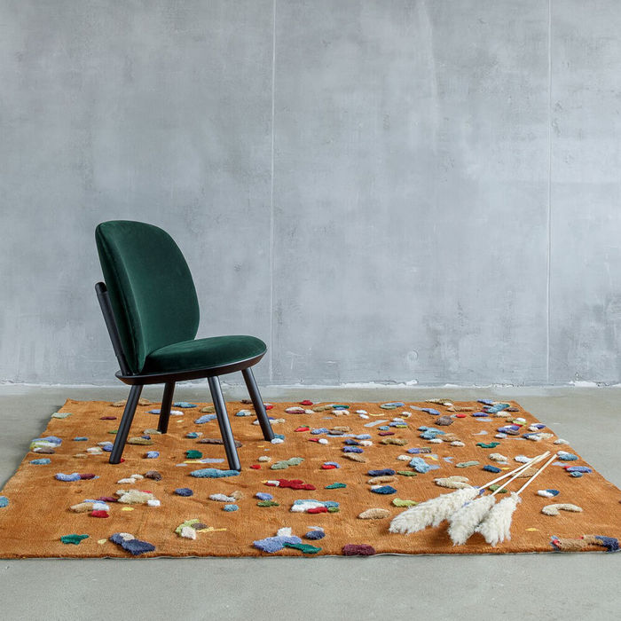 Brown Chaos Rug | Bombinate