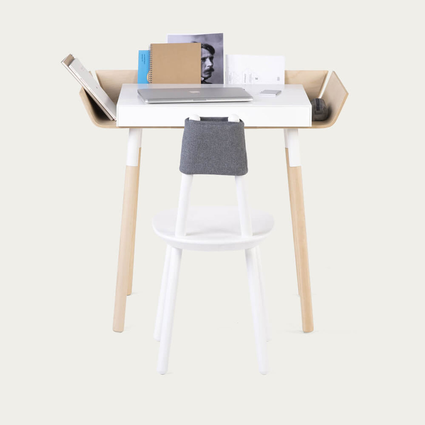 Ash 1 Drawer My Writing Desk   Bombinate