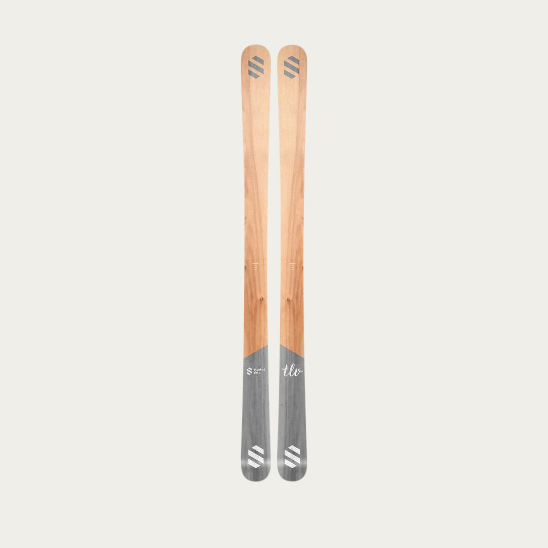 Grey Simini skis TLV  | Bombinate