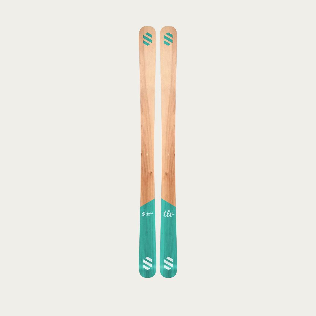 Turquoise Simini skis TLV  | Bombinate