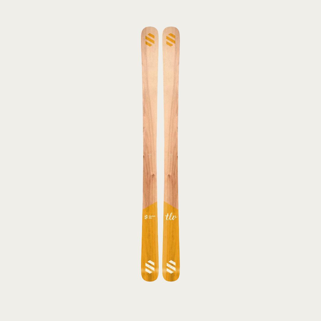 Yellow Simini skis TLV  | Bombinate