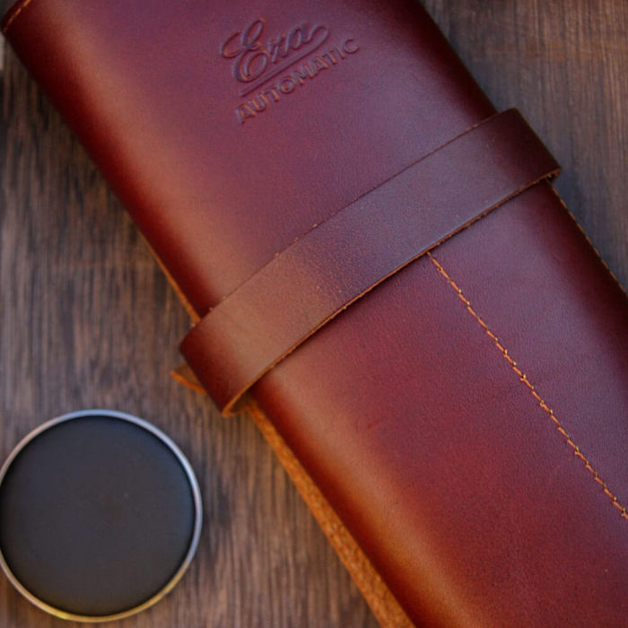 Leather Watch Roll | Bombinate