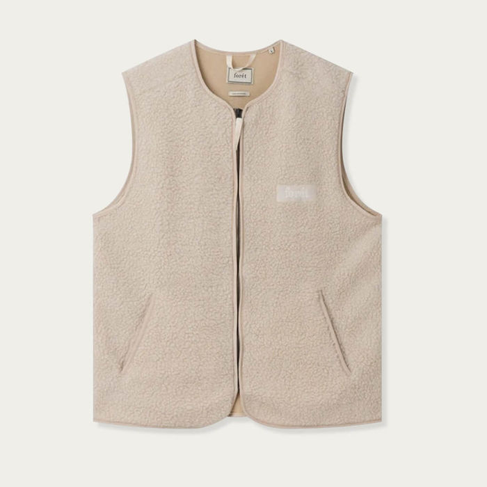 Cream Cove Vest | Bombinate