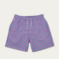 Blue and Pink Starfish Light Swim Short | Bombinate