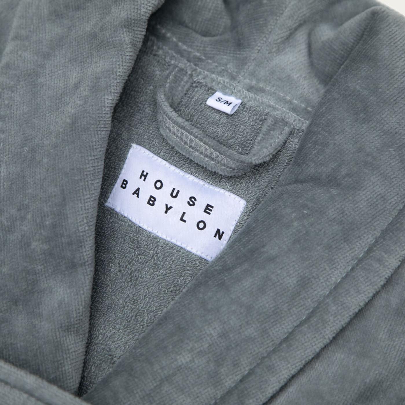 Grey Bathrobe | Bombinate