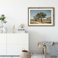 Mojave Art Print Oak Frame | Bombinate