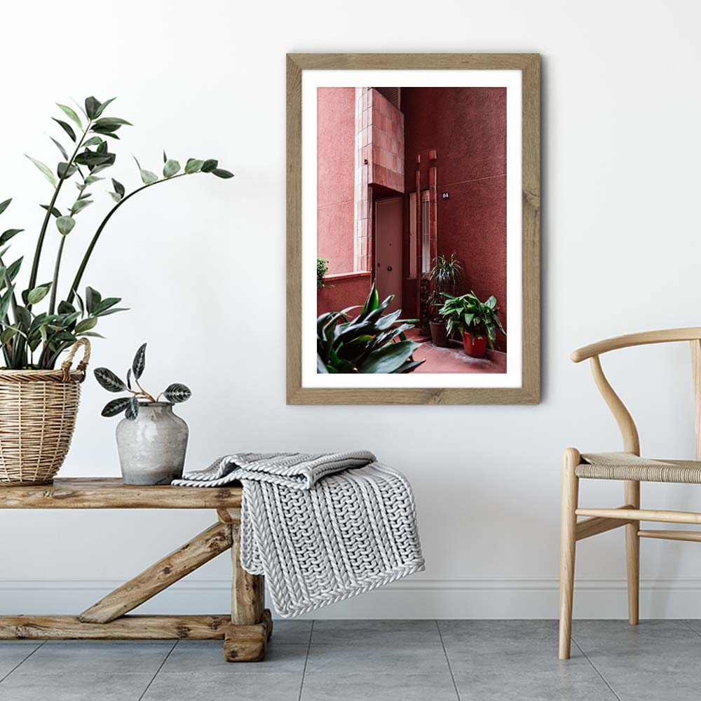Walden 64 Art Print Oak Frame | Bombinate