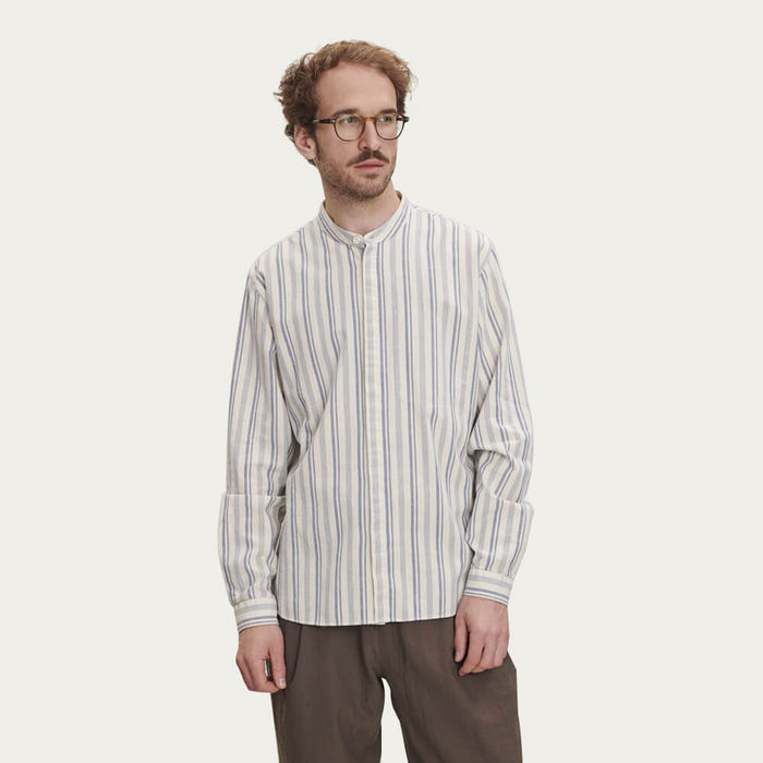 Zen Shirt in Vintage Stripe | Bombinate