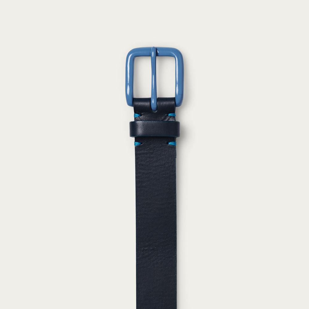 Navy/Slate Blue Modernist Belt | Bombinate