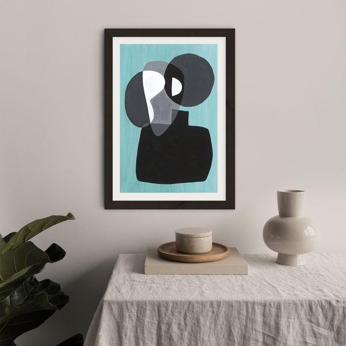 Reference #3.3 Art Print Black Frame | Bombinate