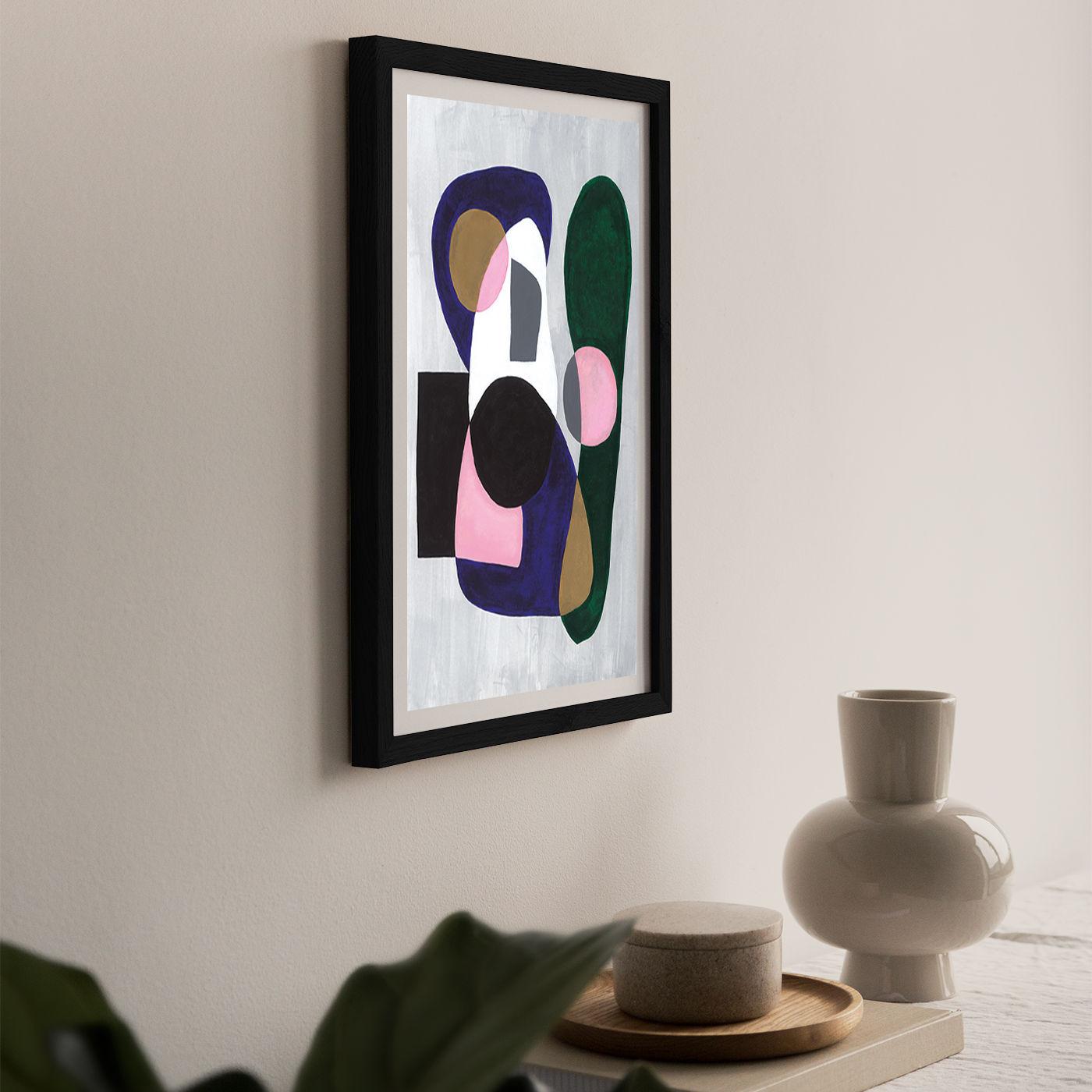 Reference #3.5 Art Print Black Frame   Bombinate