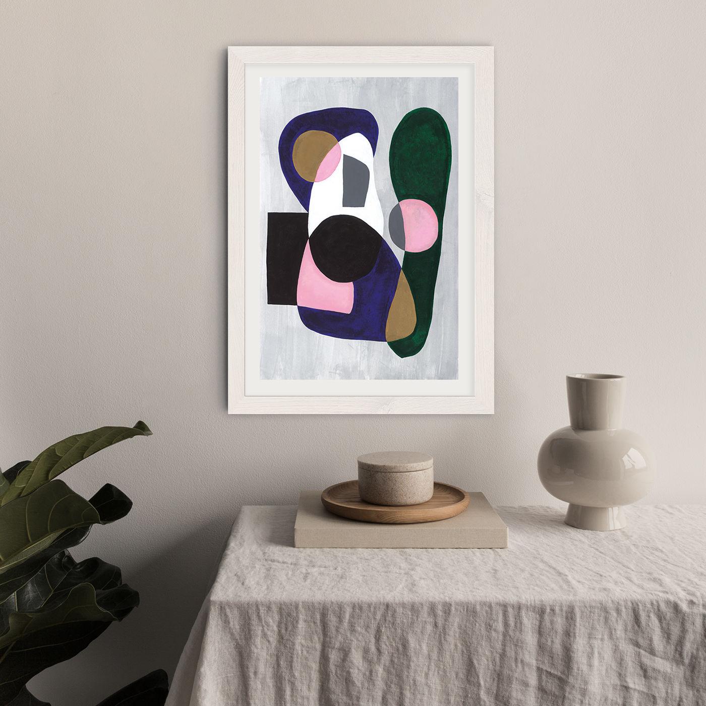 Reference #3.5 Art Print White Frame | Bombinate