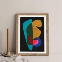 Reference #3.6 Art Print Oak Frame | Bombinate