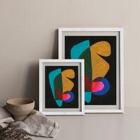 Reference #3.6 Art Print White Frame | Bombinate