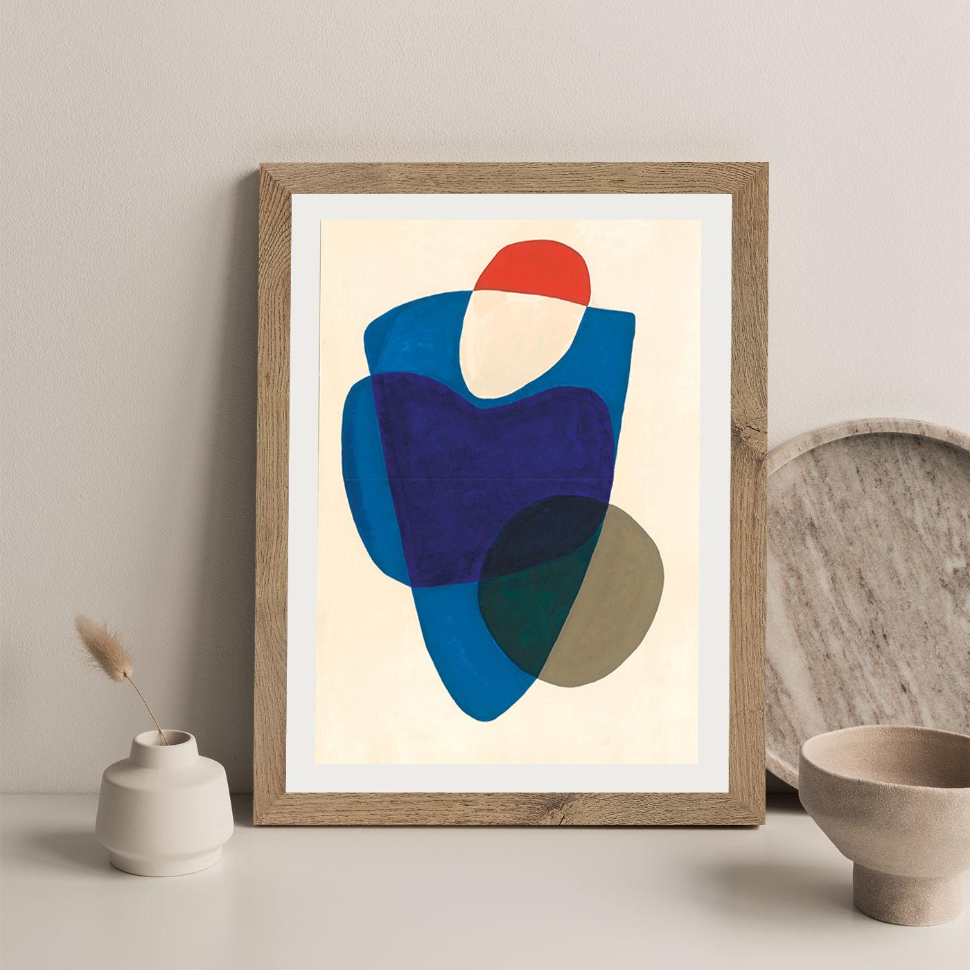 Reference #3.7 Art Print Oak Frame | Bombinate
