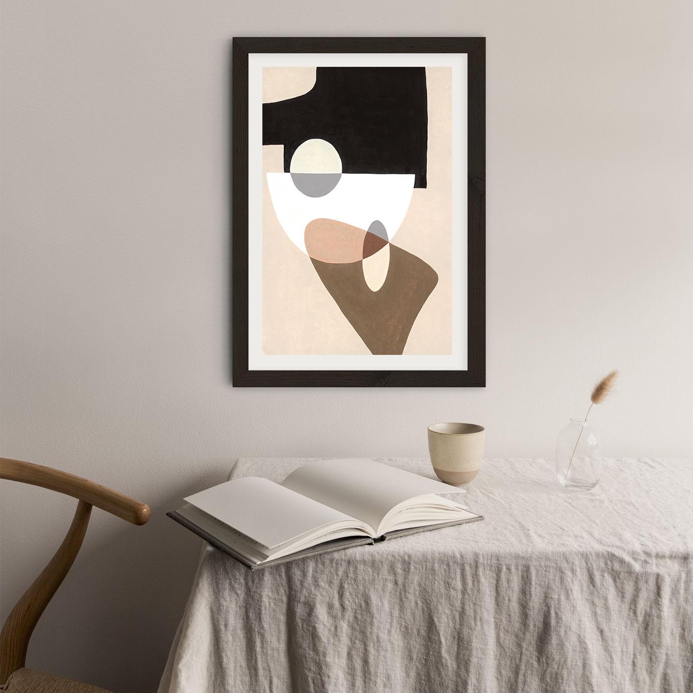 Reference #4.7 Art Print Black Frame | Bombinate