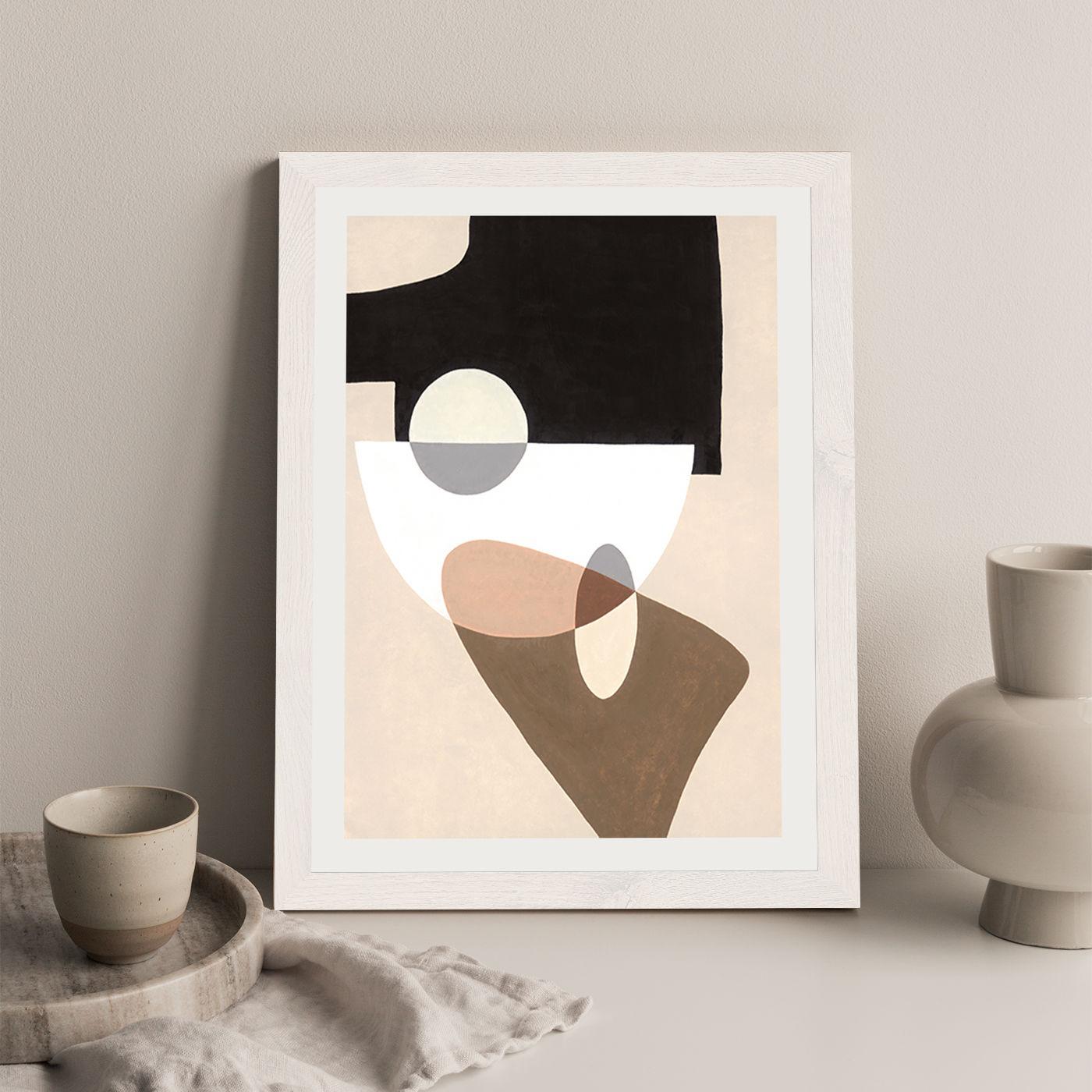 Reference #4.7 Art Print White Frame | Bombinate