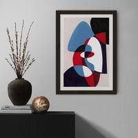 Reference #5.1 Art Print Black Frame | Bombinate