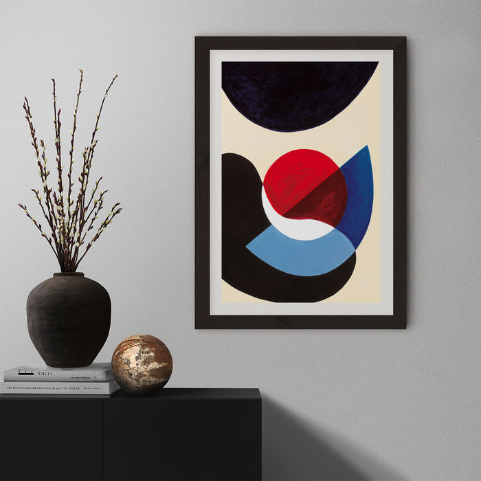 Revisit #5.3 Art Print Black Frame | Bombinate