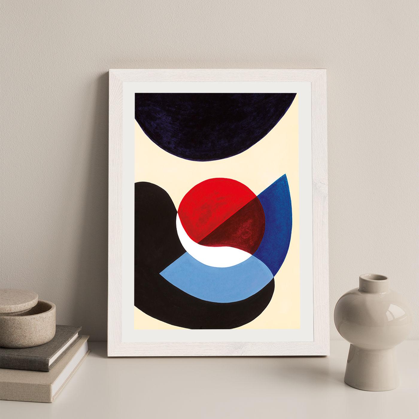 Revisit #5.3 Art Print White Frame | Bombinate