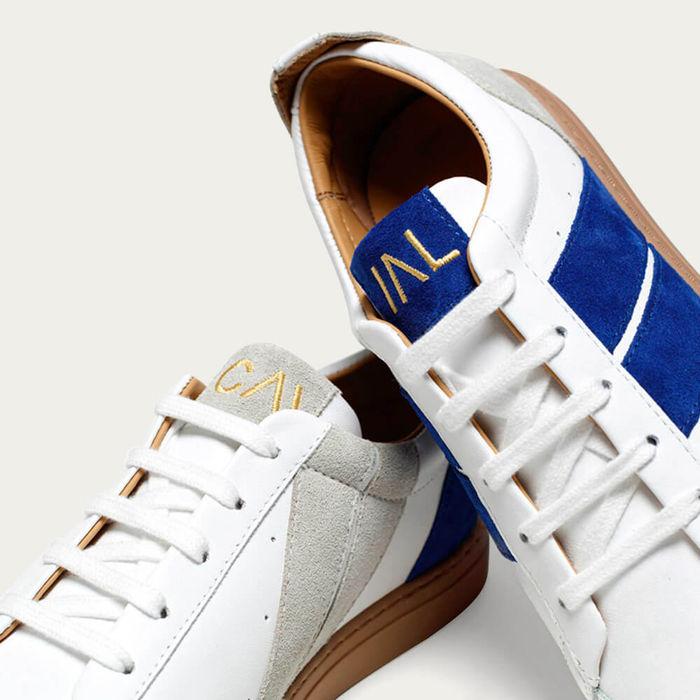 Electrik Blue Korben & Leeloo Sneakers   Bombinate