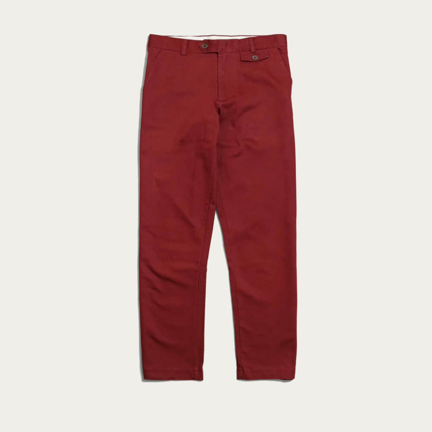 Maroon Tricker Trousers | Bombinate