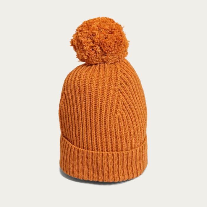 Orange Noddy Bobble Hat | Bombinate