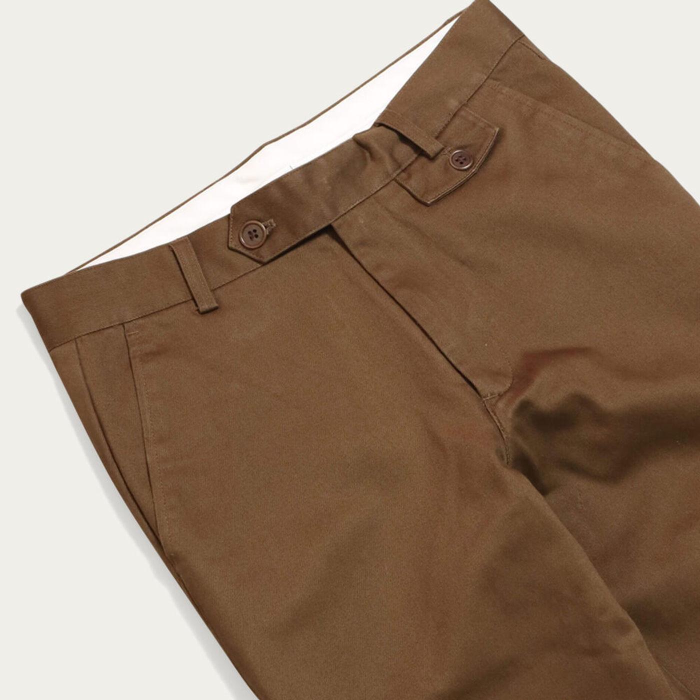Dark Brown Tricker Trousers | Bombinate