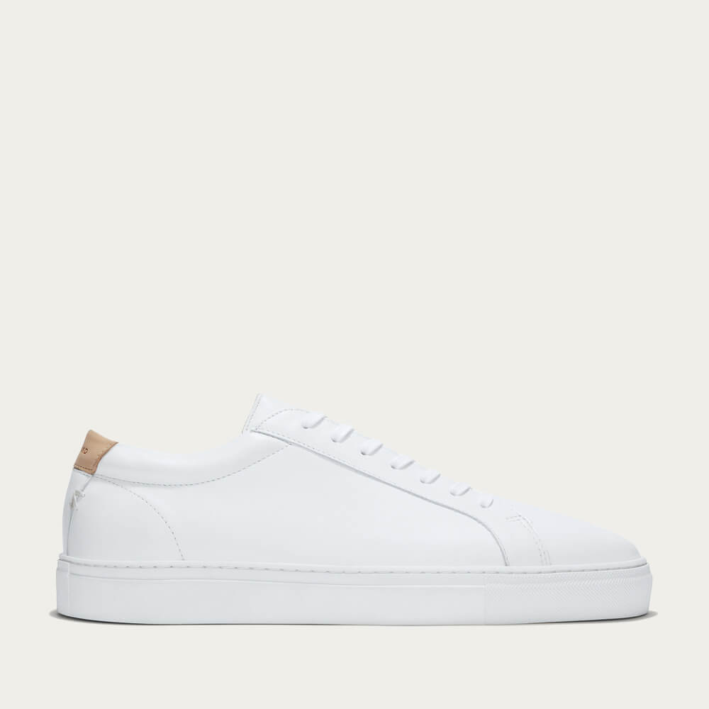 White Leather Series 1 Sneakers | Bombinate