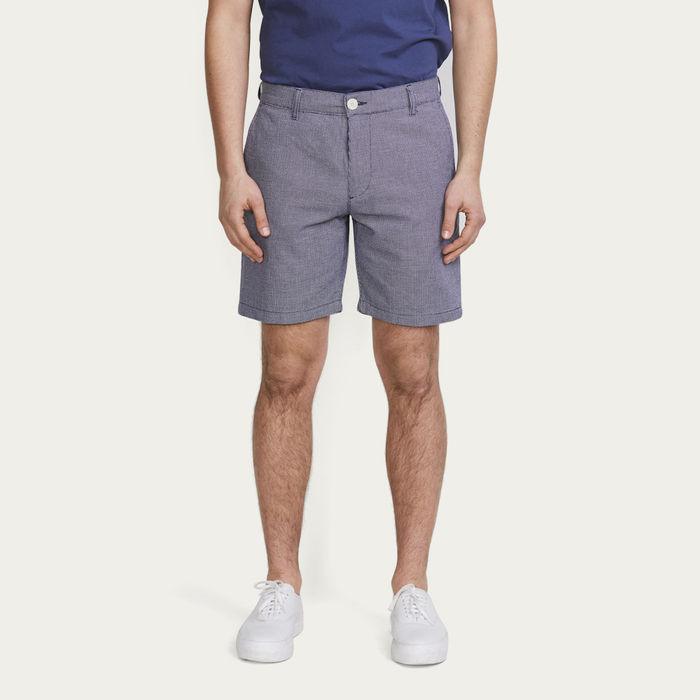 Indigo Weave Holm Shorts  | Bombinate