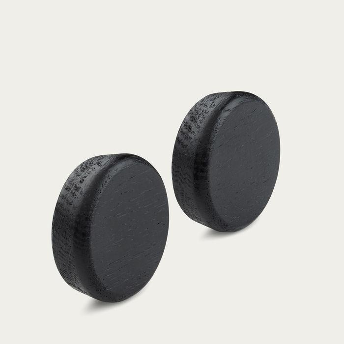 Black Oak Flex Button | Bombinate