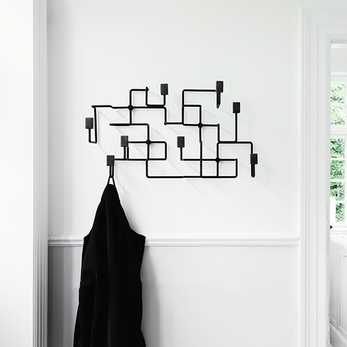 Black Oak Black Underground Coat Rack | Bombinate