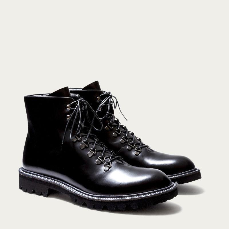 Black Leather Stonehenge Boots 2