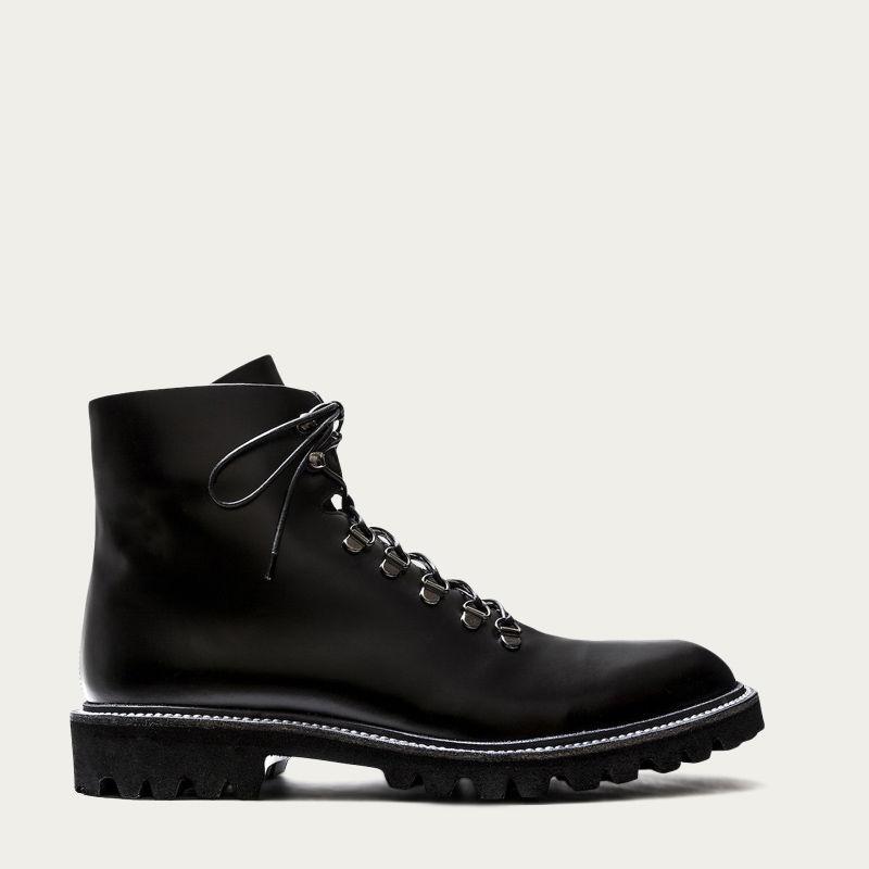 Black Leather Stonehenge Boots 0