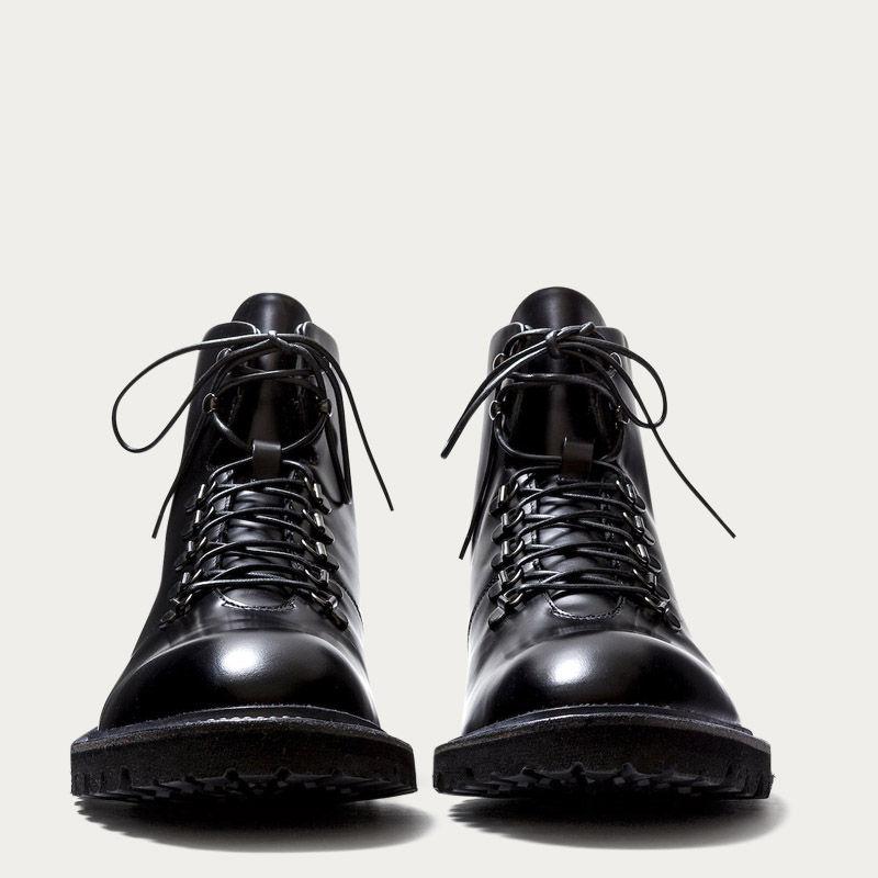 Black Leather Stonehenge Boots 1