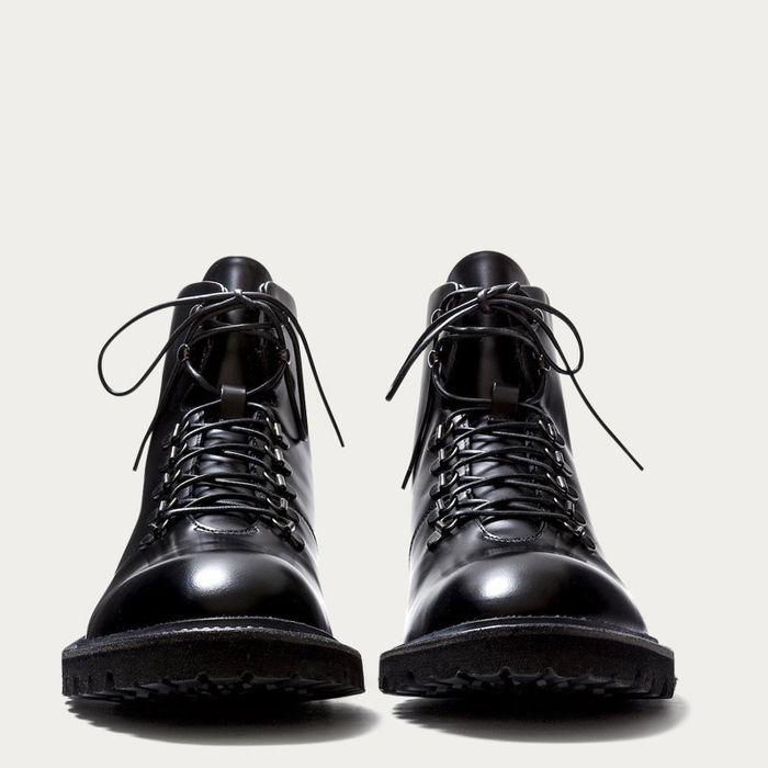 Black Leather Stonehenge Boots | Bombinate