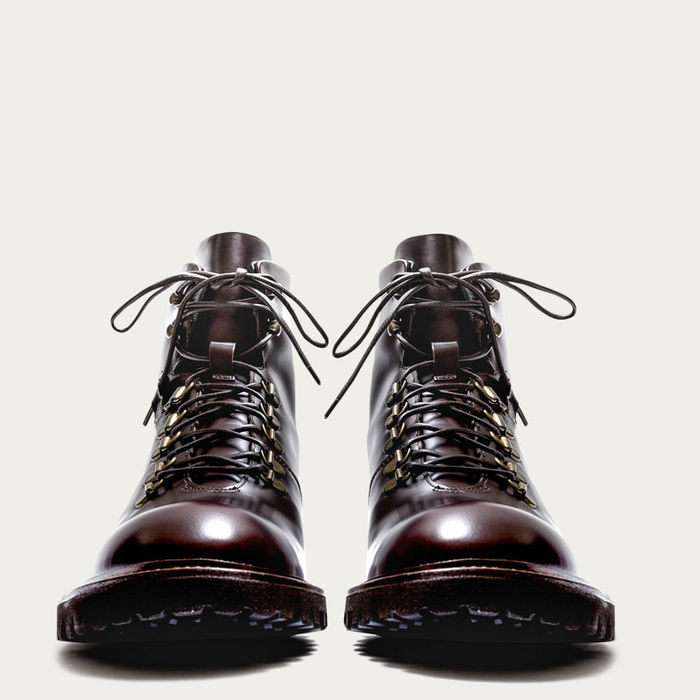 Dark Brown Leather Stonehenge Boots | Bombinate