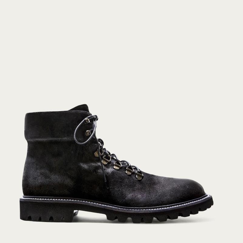 Black Suede Stonehenge Black Boots 0