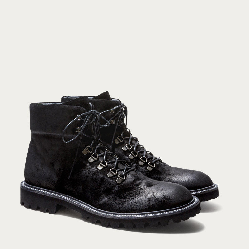 Black Suede Stonehenge Black Boots 1