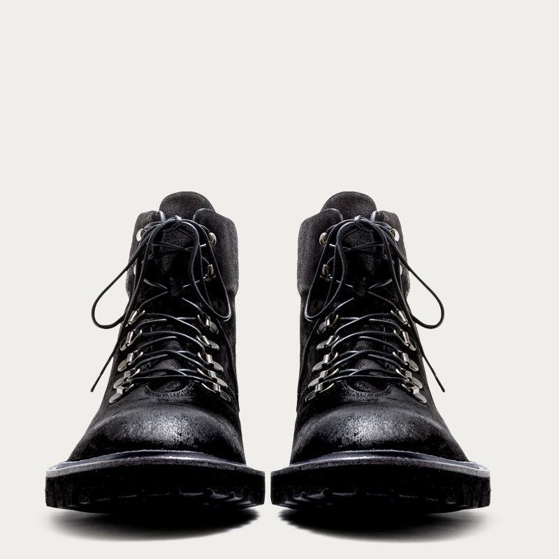 Black Suede Stonehenge Black Boots 2