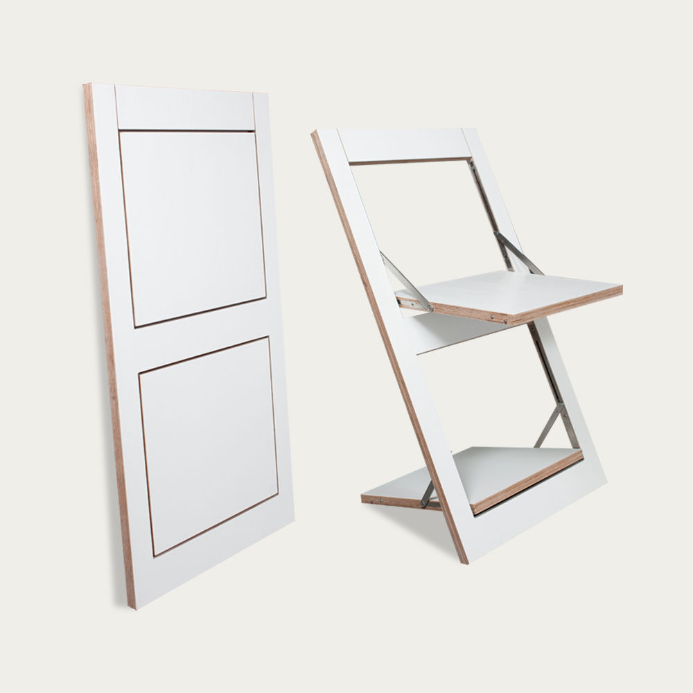 White Fäpps Folding Chair  | Bombinate